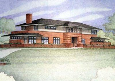 Architectura Prairie School House