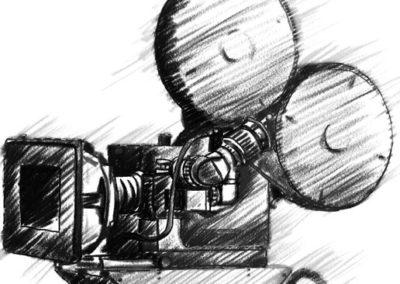 Photo-Sonics High Speed Film Camera