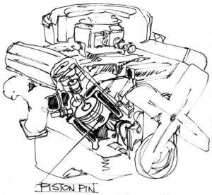 Auto-Piston-Pin