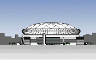Chicago Bears Stadium Rendered Elevation