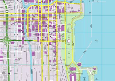 Chicago CityFlash Street Map