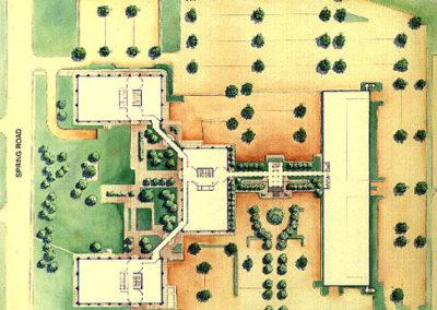 Citibank Center Site Plan Map