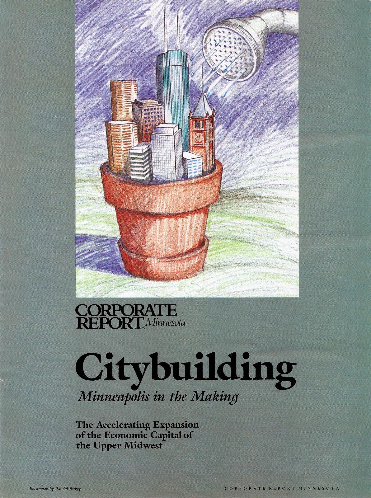 Citybuilding Minneapolis Cover