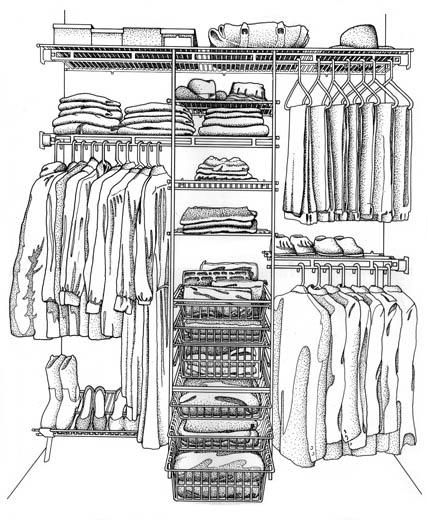 Closet Maid Organization Products