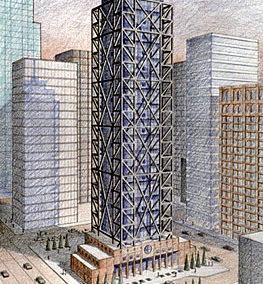 Concept Skyscraper Tower