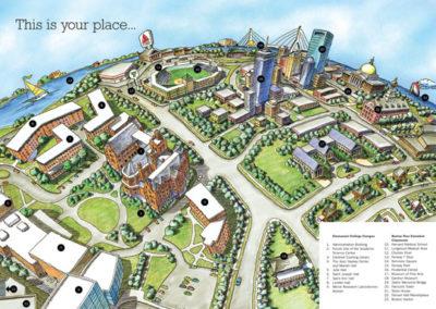 Emmanuel College Campus Map