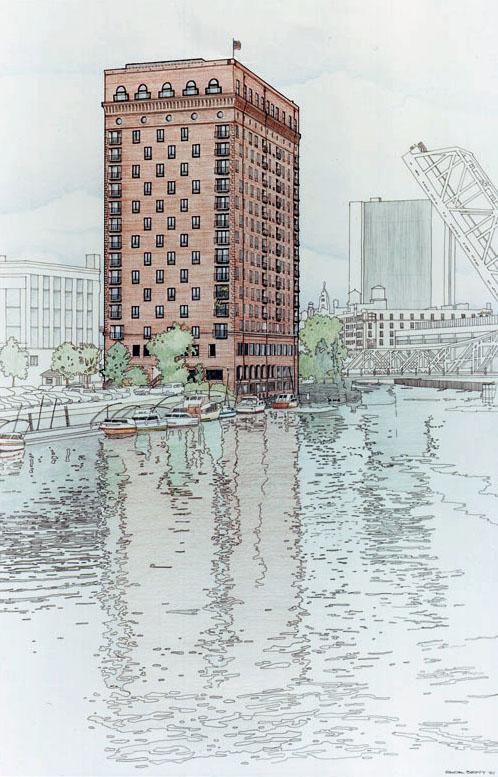 Fulton House Illustration