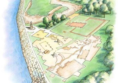 Historic Jamestowne Aerial Perspective