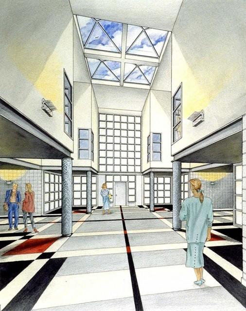Loft Lobby Interior