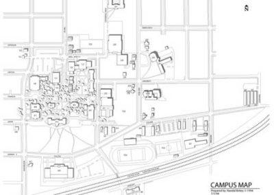 Wheaton College Campus Map