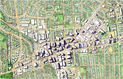 Bethesda Maryland Map Randal Birkey