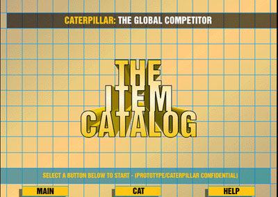"""The Item Catalog"" for Caterpillar, Inc."