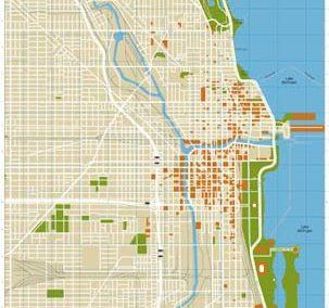 Chicago Magazine – Chicago Visitor Map