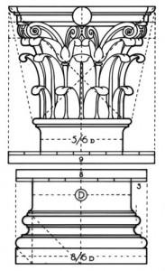Corinthian Column Dimensions