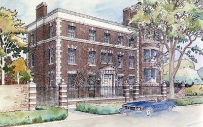 Dearborn Street Mansion, Chicago, Illinois