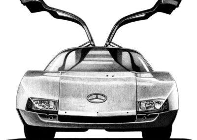 Mercedes Benz Protoype C-111 Gullwing
