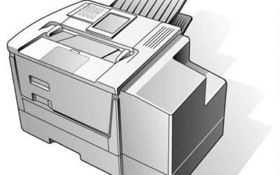 Mita Copier Technical Product Illustration