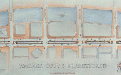 Wacker Drive Streetscape